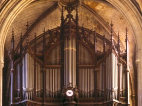 Paris (F), Eglise Saint-Bernard de la Chapelle, Aristide Cavaillé-Coll organ