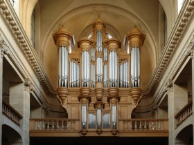 Paris (F), Eglise réformée des Bilettes, Mühleisen organ