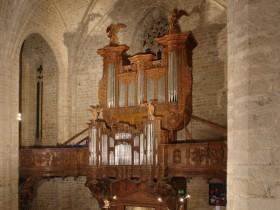 La Chaise Dieu (F), Abbatiale Saint-Robert, Marin le Carouge organ