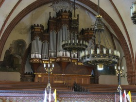 Drezdenko (PL), Kościół Przemienienia Pańskiego, Wilhlem Sauer organ (1902)
