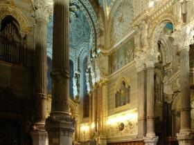 Lyon (F), Basilique Notre-Dame de Fourvière, Joseph Merklin organ