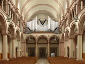 Pforzheim (D), St.Franziskuskirche, G.F.Steinmeyer organ (1948)