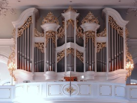 Saarbrücken, Basilika St.Johann, Klais organ