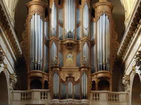 Paris (F), Eglise Saint-Louis-en-l'Île, Bernard Aubertin organ