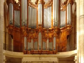 Saint-Maximim-la-Sainte-Baume (F), Basilique Saint-Marie-Madeleine, Jean Esprit Isnard organ