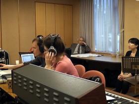 Maria-Magdalena Kaczor CD recording in Sapporo