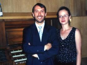 Olivier Latry & Maria Magdalena Kaczor, Masterclass, Warszawa 2003