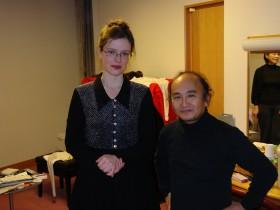 Sapporo, Kitara Concert Hall - Maria-Magdalena Kaczor, Junichi Hirogami