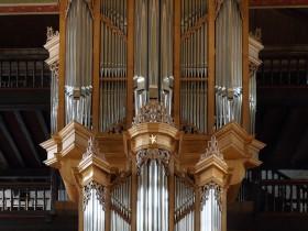 Ciboure (F), Eglise Saint-Vincent, Organ built by Dominique Thomas (2014)