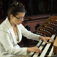 "Maria-Magdalena Kaczor plays Gaston Litaize's ""Scherzo"" from <12 Pieces pour Grand Orgue>"