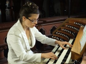 "Maria-Magdalena Kaczor plays Gaston Litaize's ""Scherzo"" from"