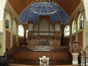 Zürich (CH), St.Jakob; Orgel von Theodor Kuhn (1901)