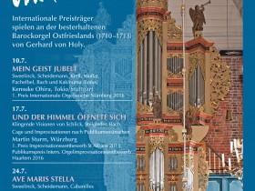 Orgelsommer Marienhafe 2017